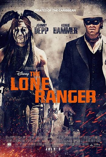 The Lone Ranger 2013 Hindi BluRay 720p & 480p Dual Audio [Hindi (ORG DD2.0) & English] | Full Movie