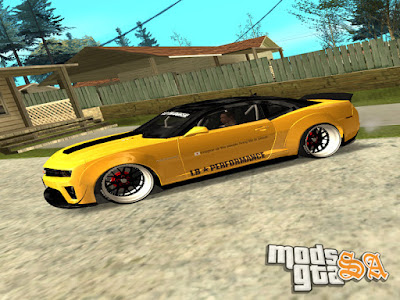 Chevrolet Camaro ZL1 2012 Liberty Walk LB Performance para GTA San Andreas