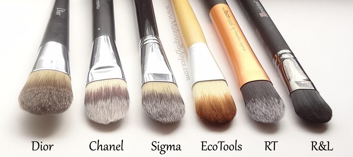 types of foundation brushes. foundation brush : types of makeup brushes foundation p