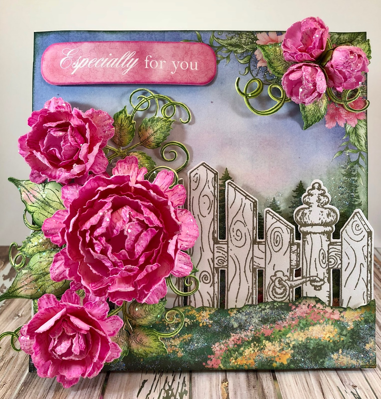Jans Paper Flowers Heartfelt Creations Sweet Peony Collection