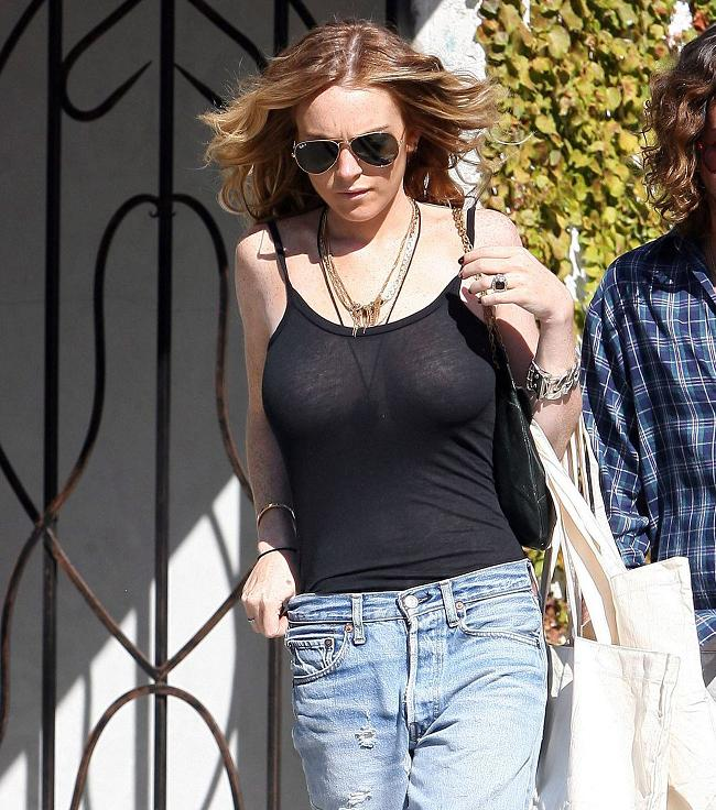 Are Lindsay Lohan's Breast Implants the Reason For Her Drug Problems?