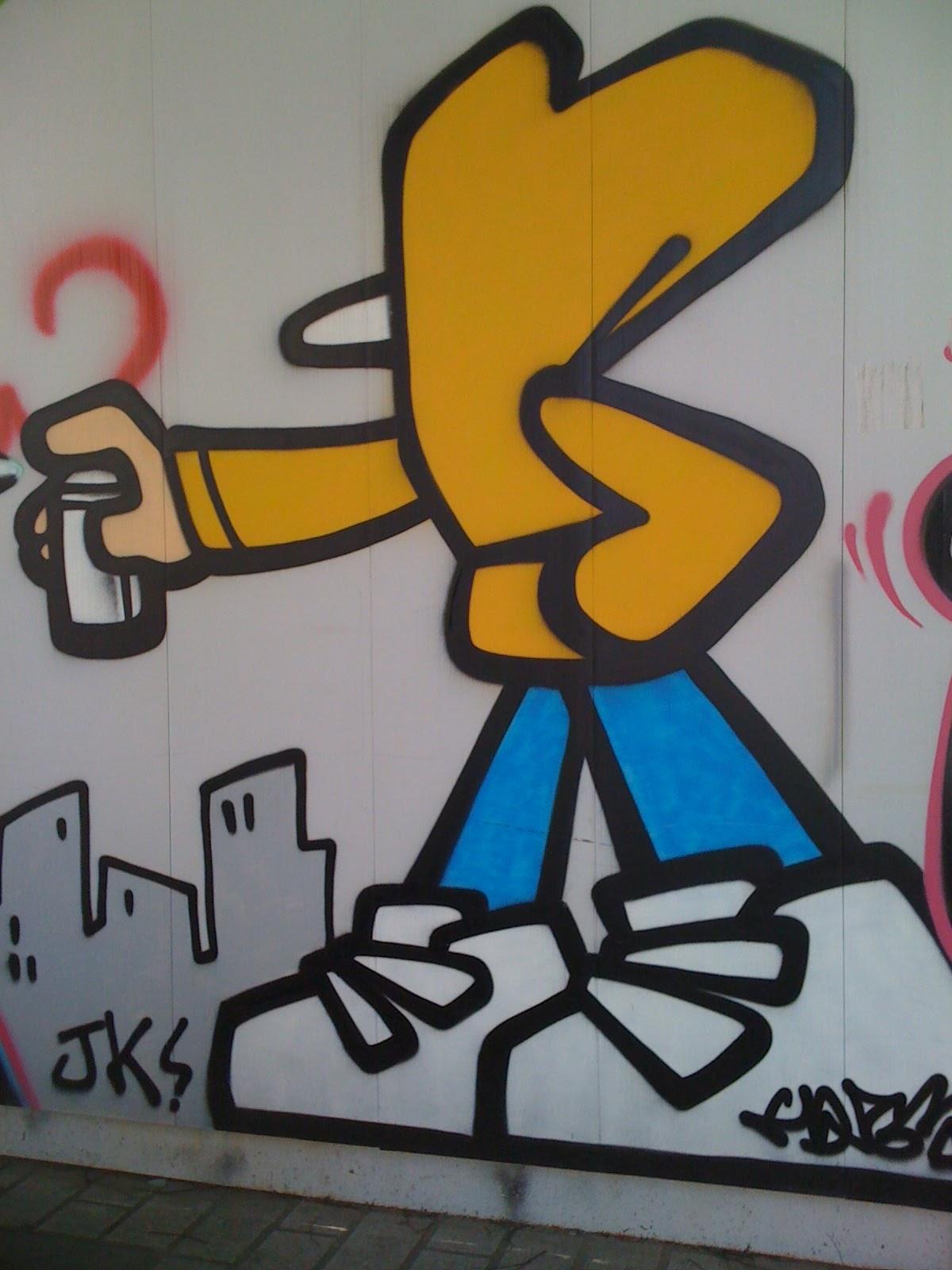 En esta quiero humo: Grafitis por el mundo #21: Seúl