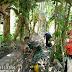 Babinsa Koramil 03/IV Jurai Bersama Warga Bangun Drainase Pembuangan Limbah