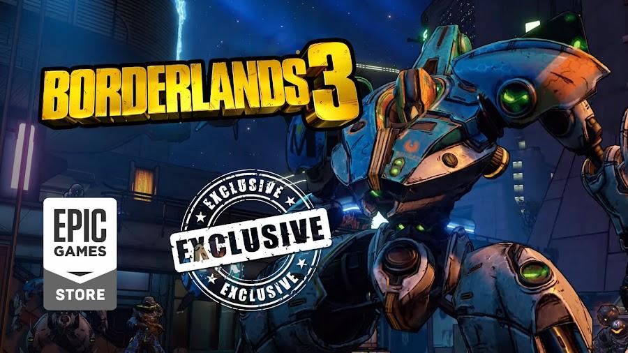 borderlands 3 pc exclusive epic store leak