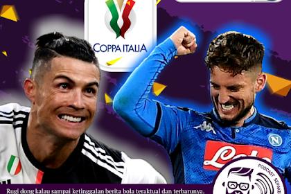 Juventus vs Napoli Di Final Coppa Italia