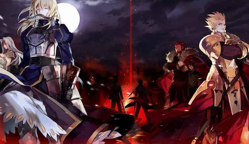 Fate/Zero BD (Season 1 & Season 2) Subtitle Indonesia
