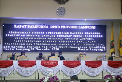 Pemprov Lampung Apresiasi Dukungan DPRD terhadap Raperda tentang Fasilitasi Penyelenggaraan Pesantren