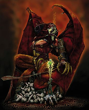 Orcus from the Book of Vile Darkness