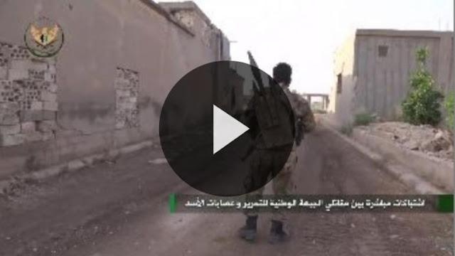 """سوريا: لعبة """"بوبجي"""" حقيقية في ساحات معارك حماة (فيديو)"""