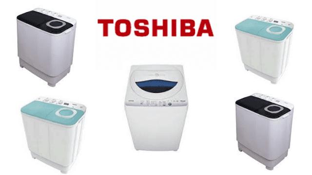 10 Keunggulan Mesin Cuci Toshiba