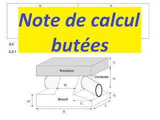 L'objet de la présente note et de fournir les éléments ayant servi au dimensionnement des massifs  de butée à mettre en place au niveau des différents coudes