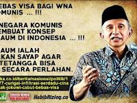 Curigai Turis Cina Sebagai Tentara. Mantan Ketua MPR Desak Jokowi Cabut Bebas Visa