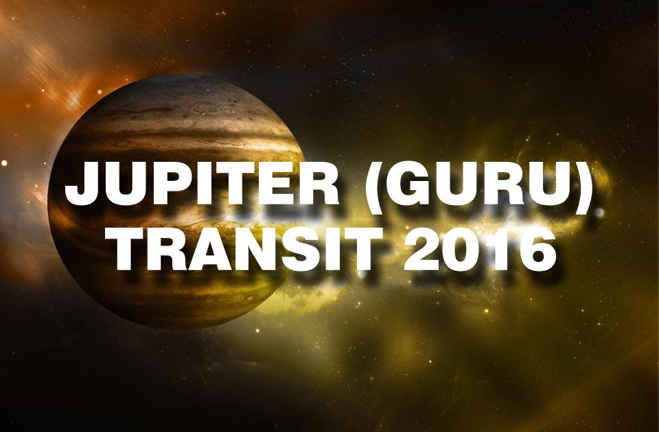 Jupiter Transit 2016