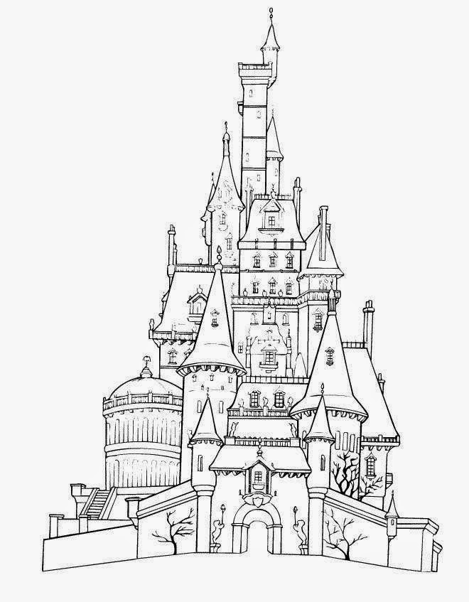 coloring pages on disney | Disney World Coloring Pages - Disney Coloring Pages