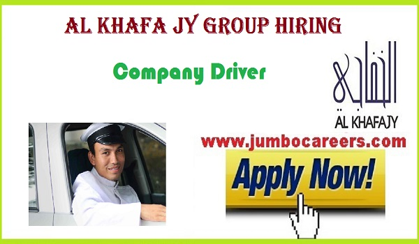 Latest Abu Dhabi Driver jobs for Indians, Direct company jobs in UAE,