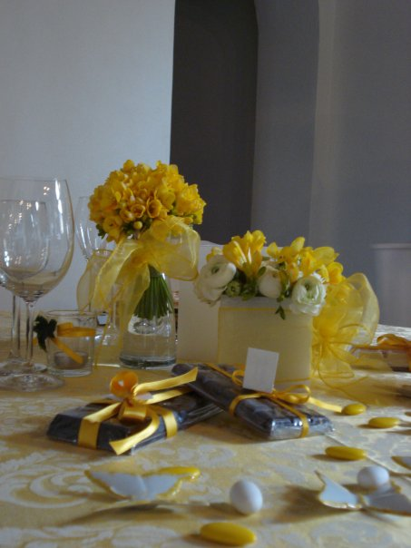 Fiori Gialli Gelosia.Umbria Wedding Planner Matrimonio In Giallo