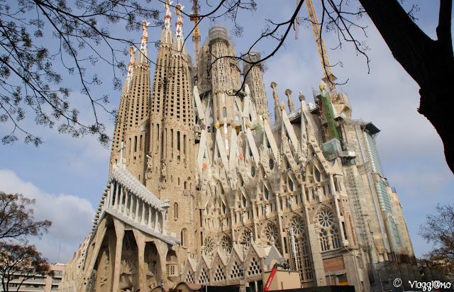 La Sagrada Familia l'opera più importante di Gaudì