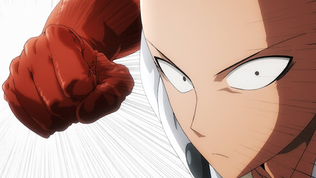 Saitama is about to punch