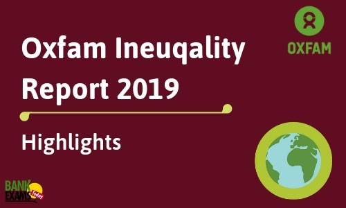 Oxfam Inequality Report 2019: Highlights
