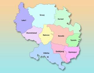 vidishaa map