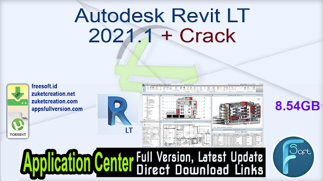 Autodesk Revit LT 2021.1 + Crack