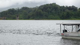 Boat ride Lake Arenal