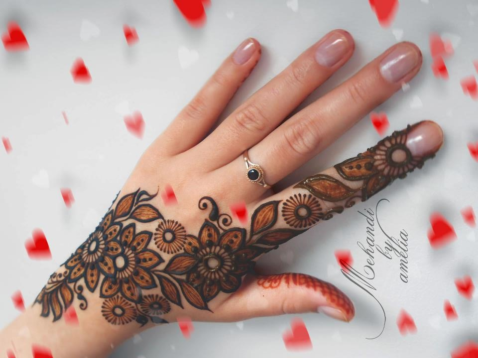 bridal mehndi designs beautiful and unique hands mehandi