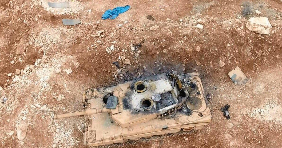 Terroristas do Daesh dissipam mito de invulnerabilidade de tanques alemães Leopard