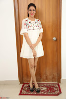 Lavanya Tripathi in Summer Style Spicy Short White Dress at her Interview  Exclusive 272.JPG