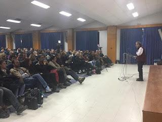 Πραγματοποιήθηκε η ομιλία του Μάνου Δανέζη το Σάββατο 25 Φεβρουαρίου