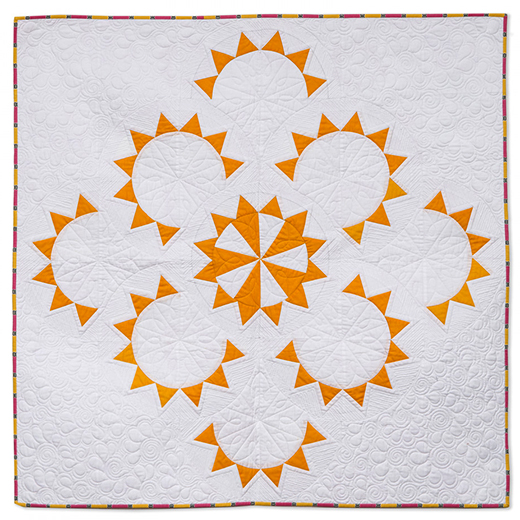 Ray of Sunshine Quilt Free Pattern