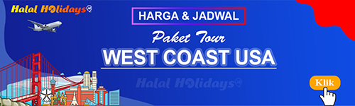 Jadwal dan Harga Paket Wisata Halal Tour Amerika West Coast USA