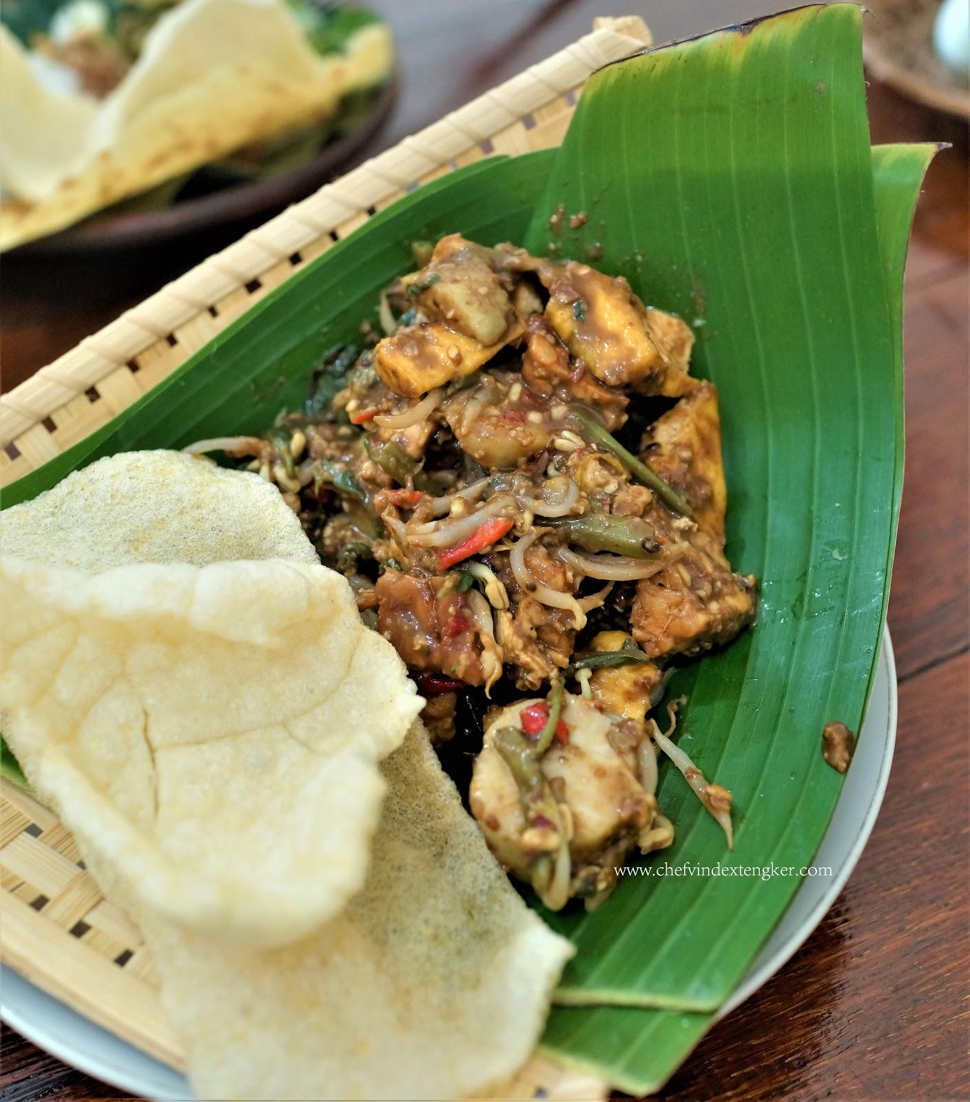 Rujak Cingur Jawa Timuran Chef Vindex Tengker
