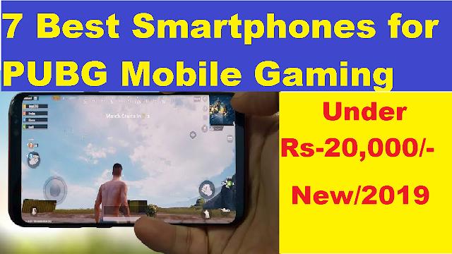 best smart phones for pubg mobile gaming