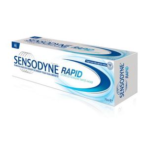 Sensodyne rapid terméktesztelés