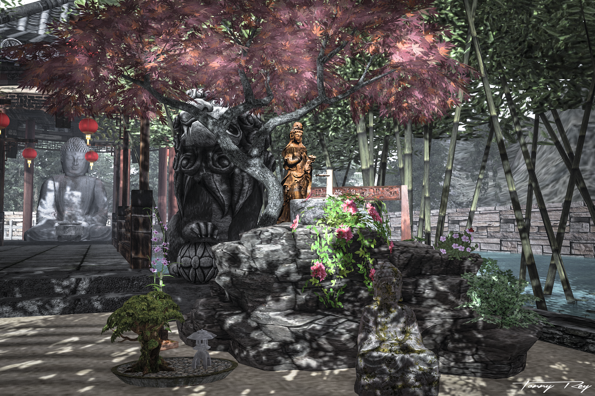 Swank Event – Zen Garden