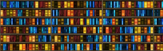 Image: Book Shelf Banner, by Pete Linforth on Pixabay