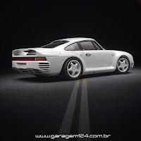 Porsche 959 - Tamiya 1/24 Plastic Model Kit