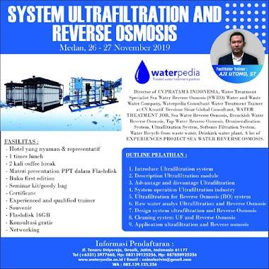 WA+ 082139125256 Training RO dan UF, Biaya Training Murah Pelatihan RO Reverse Osmosis System Ultra Filtration dan Design RO di Medan