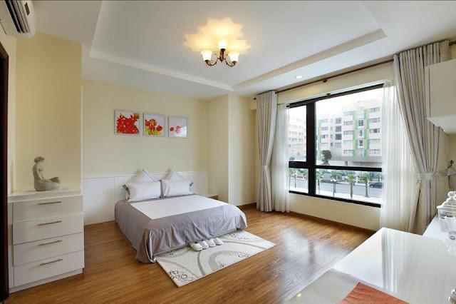 Thiết kế phòng ngủ căn hộ Lilaha Complex