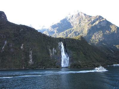 Fiordo Milford Sound. Parque Nacional Fiordland, Nueva Zelanda