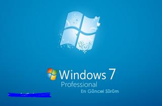 Windows 7 Professional Vl SP1 İndir – Türkçe Güncel Mayıs 2020