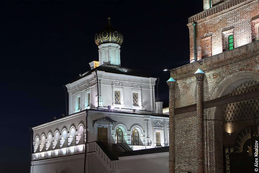 Ночная Казань