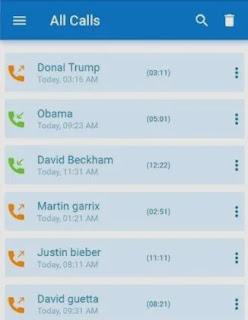 برنامج Auto Call Recorder لتسجيل المكالمات