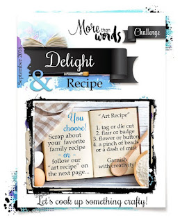 More Than Words: September Main Challenge- delight
