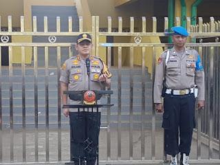 Polres Cirebon Kota Gelar Apel Pergeseran Pasukan Dalam Pengamanan  Pilkuwu 2019