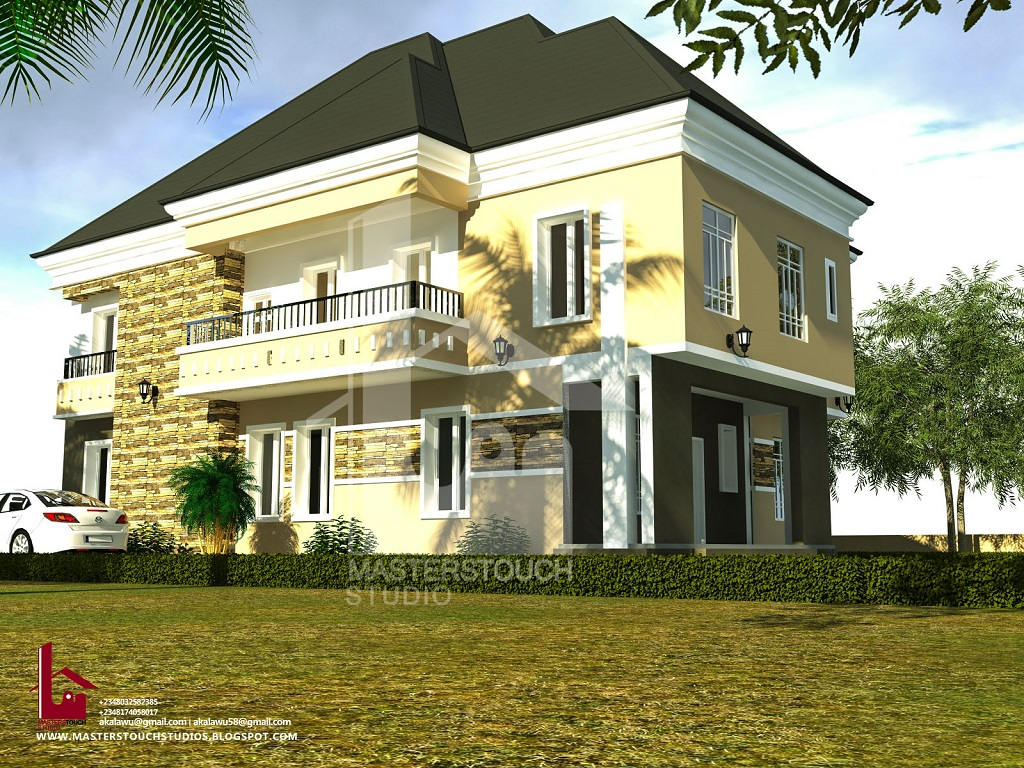 Mr Gabriel 4 Bedroom Duplex Modern And Contemporary