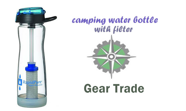 Review of a Quality Camping Water Bottle with Filter