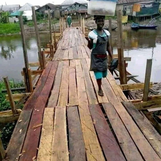 See the Elebele bridge contract awarded to NDDC for N2.3 Billion naira and commissioned in 2020