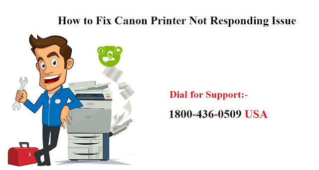 The Most Effective Method to Resolve Canon Printer Not Responding Error